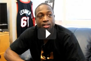 Dwyane Wade, NBA star from the Miami Heat, Video Blog before & after his LASIK surgery