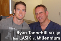 Ryan Tannehill's LASIK Experience at Millennium Laser Eye Centers