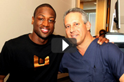 D-Wade's LASIK surgery with Eye Surgeon Dr. Cory Lessner is Featured on ABC News Channel from Miami